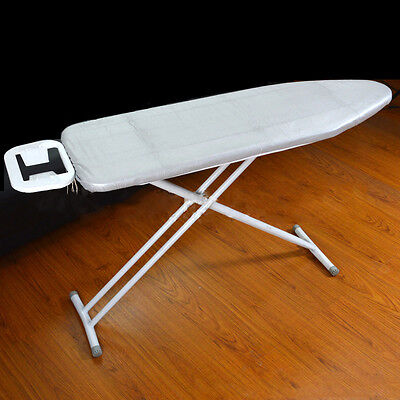 """15"""" x 48"""" Silver Coated Ironing Board Cover W/Fiber Pad Fireproof """"Pull String"""""""