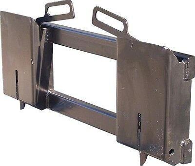 Adapt to Skid Steer Attachments - Eterra UA-30 Universal Adapter Plate