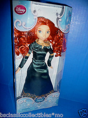 Disney Store Merida Brave Doll Disney's Classic Collection New!!