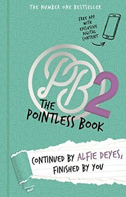 The Pointless Book 2 by Alfie Deyes New Paperback Book