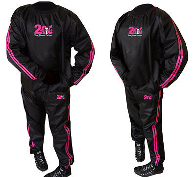 2Fit Sauna Sweat Suit Slimming H-Duty Boxing Jogging W-Loss Fitness Track suit