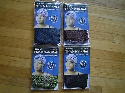 New Fashion Mirate Thick Hair Net Durable Fabric 1 Size Fits All Super Quality