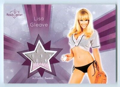 "Lisa Gleave ""2 Color Swatch Card"" Benchwarmer Signature Series 2015"