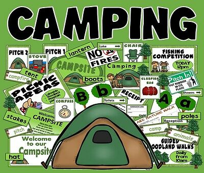 Cd Camping Role Play Teaching Resources Key Stage 1-2 Science Summer