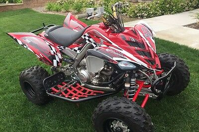 2006 - 2012 Raptor 700 graphics full coverage decal kit NO3500 Red