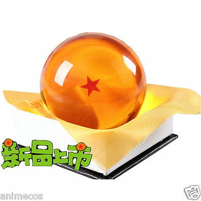 7.5cm Acrylic Dragonball Replica Ball (Large/1 Star) with Gift Box