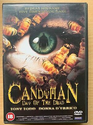 Candy Man 3 Day of the Dead DVD 1999 Clive Barker Cult Horror Film Movie