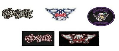 # AEROSMITH - OFFICIAL SEW-ON PATCH patches logo heavy metal rock