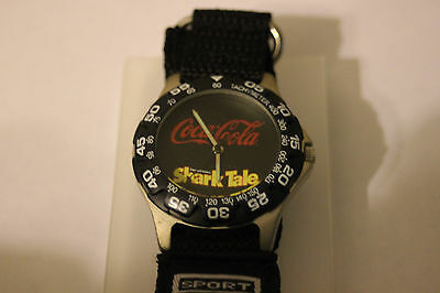 New Coke Shark Tales Dream Works Coca Cola Wrist Watch Unique Antique Hollywood