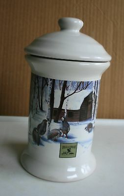 """""""FIELD & STREAM"""", KITCHEN CANISTER, CERAMIC, NICE"""
