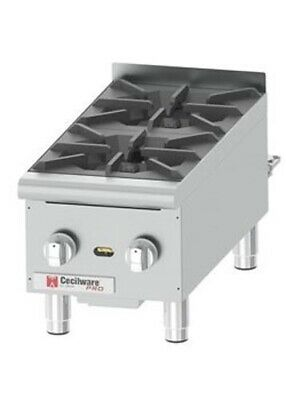Grindmaster Cecilware HPCP212 Gas Hot Plate *Authorized Seller*