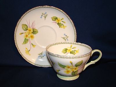 Shelley Yellow Primrose Cup & Saucer