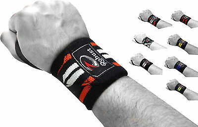 Robust Weight Lifting Wrist Wraps Bandage Hand Support Gym Straps Brace 13 inch