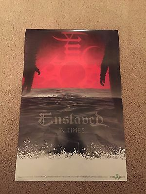 Enslaved POSTER for In Times CD / LP - Nuclear Blast Records