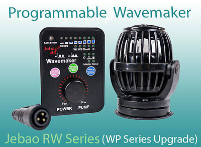 Jebao RW4 RW8 RW15 RW20 Programmable Wavemaker, WP Series Upgrade - Combo Deals!