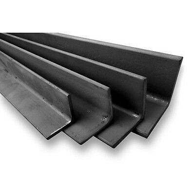 Angle Iron Unequal / RSA cut 500mm to 1500mm long - 40mm x 25mm to 150mm x 75mm