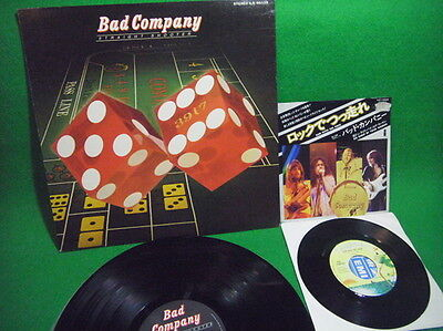 bad company straight shooter / RUN WITH THE PACK JAPAN LP+EP