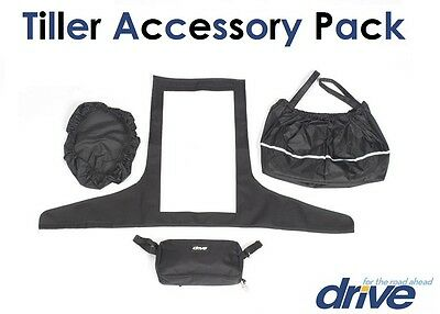 Drive Medical Scooter Pack - Tiller Cover, Basket Liner With Lid & Mini Bag Aid