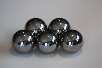 "FIVE  1"" inch monkey fist tactical steel ball cores"