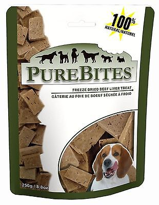 PureBites® Freeze Dried Beef Liver Dog Treat 8.8oz / 250g
