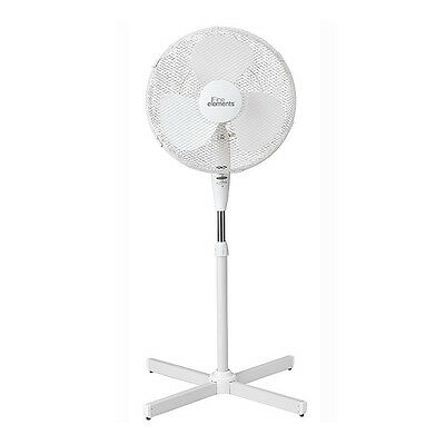 """Electric 16"""" Oscilliating Extendable Free Standing Tower Pedestal Cooling Fan"""