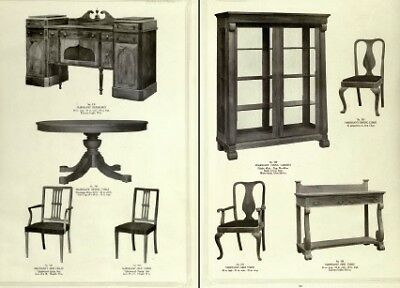 Collection of HISTORICAL Craftsman FURNITURE CATALOGUES - On Disk