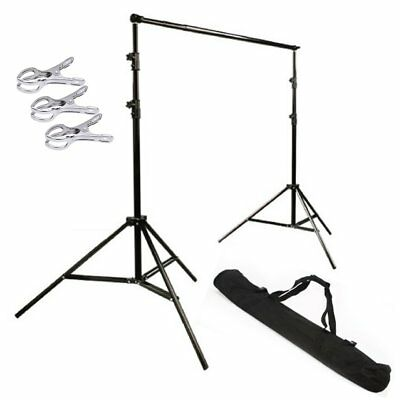 [UK] 3x2.8m Heavy Duty Spring Cushion Studio Background Stand Backdrop Support