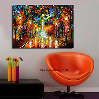 Romantic Nights Stretched Canvas Print Framed Wall Art Nursery Decor Painting