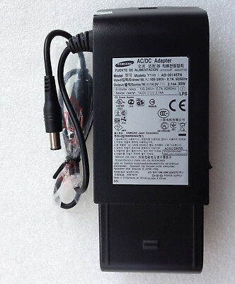 Original OEM 30W 14V 2.14A AC Adapter for Samsung LED S24B300B S24B300H S24B350B