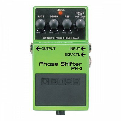 Boss PH3 Phaser Shift Guitar Effects Stompbox