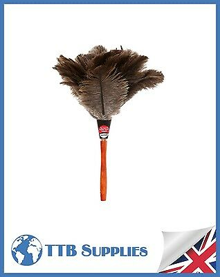 "Genuine Dustease Premium Ostrich Feather Duster - 12""/30cm"