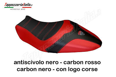 SEAT COVER DUCATI MONSTER 1200 & 821  by tappezzeriaitalia.it