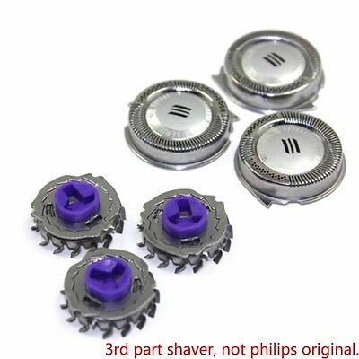 3 pcs Norelco HQ8 HQ7340 HQ7320 razor blade cutter shaving heads  For Philips