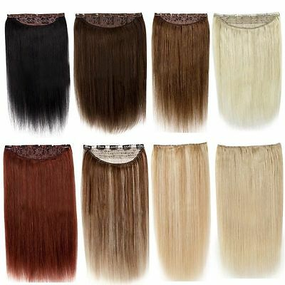 100g-200g Five Clips In One Piece 100% Human Hair Extensions