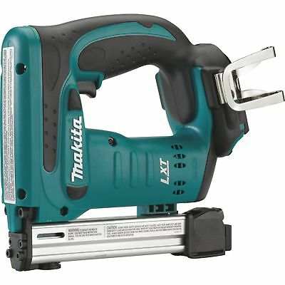 "Cordless 3/8"" Crown Furniture Stapler 18v t LXT Lith Bare Tool Makita XTS01Z New"