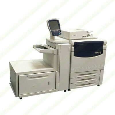 Xerox 700i Digital Color Press Production Printer Copier Scan Fiery Feeder 70PPM