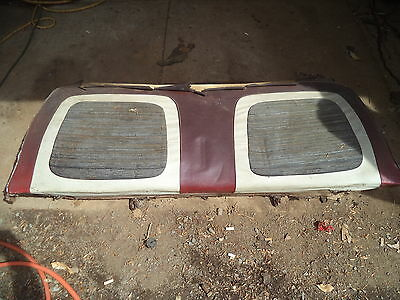 1959 59 ford galaxie 500 2 dr. h.t. back seat back