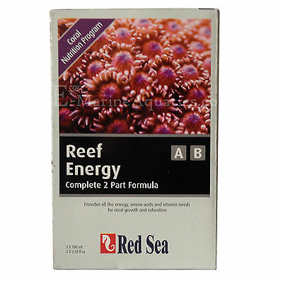 RED SEA REEF ENERGY A & B 100ml CORAL FOOD TWIN PACK