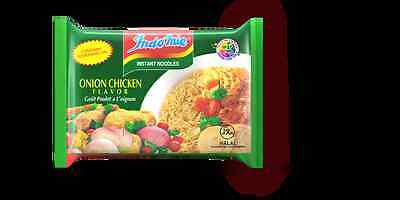Indomie Instant Onion Chicken Noodles 70g (Pack of 6)