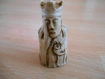 Miniature Isle of Lewis Resin Chess - Individual Chessmen - Queen