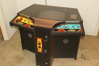 Extremely Rare Williams JOUST COCKTAIL ARCADE Game - Nice Condition - Works 100%