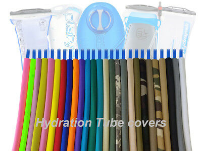 Hydration pack drink tube insulated hose cover / sleeves.. for Camelbak, Source,