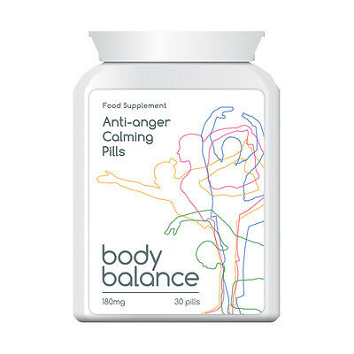Body Balance Anti Anger Calming Pills Tablets Stop Short Fuse And Temper Now