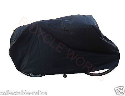 Bicycle Cover Waterproof Black Nylon MTB BMX Road Bike Rain Dust Protector 493