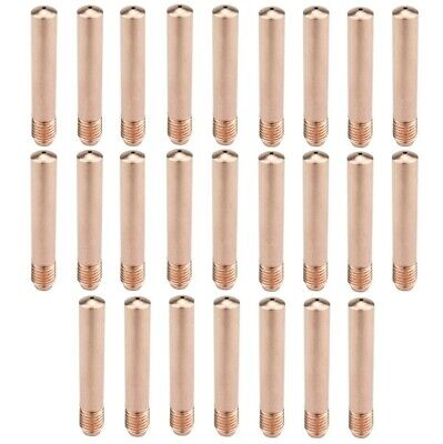 """25 Mig Contact Tips 14-30 .030"""" 1430 Fit Tweco 2-4 Lincoln Magnum 200-400"""