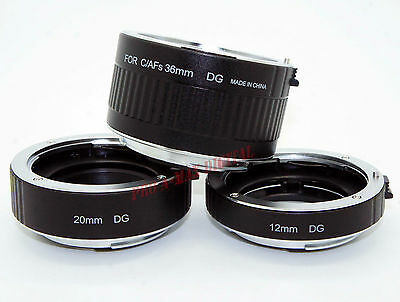 ProTama Auto Focus Macro Extension Tubes Set DG AF for Canon EOS EF EFS + GIFT