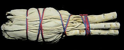 "4"" CALIFORNIA WHITE SAGE BUNDLE (Smudge Stick) w/Card - Cleansing, Purification"
