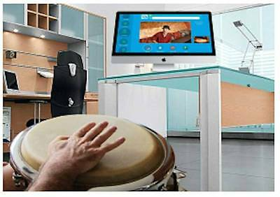 Learn to play: Conga , Djembe, Timbales, Bata, Drum Kit