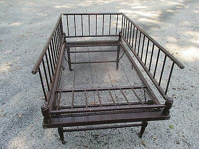 Antique Baby Bed Cradle Crib Baby Fold down , Collapsible storage baby bed