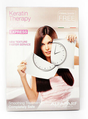 Alfaparf Lisse Design EXPRESS KERATIN SMOOTHING TREATMENT KIT  STRAIGHT HAIR